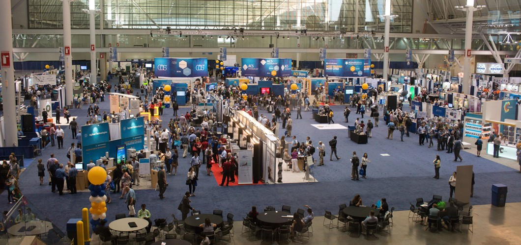 Expo scene at an ACS national meeting