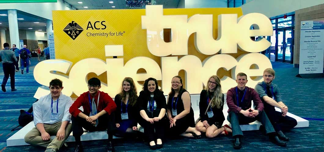 Students from Duquesne University during an ACS National Meeting