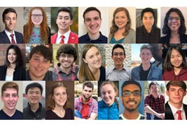Meet the Exceptional Students Selected for 2019 SCI Scholars Internships  image