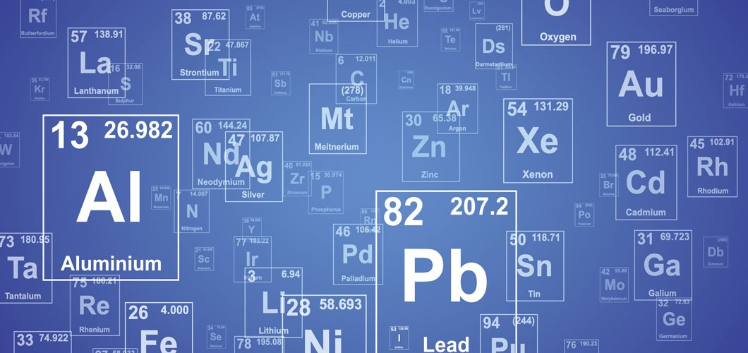 Periodic table elements image