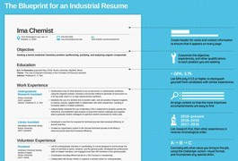 Blueprint for a Chemical Industry Resume