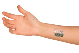 Electronic Skin Patch Detects Blood Alcohol Level from Sweat image