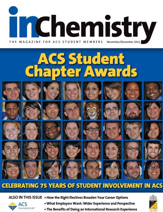 inChemistry November December 2012 issue
