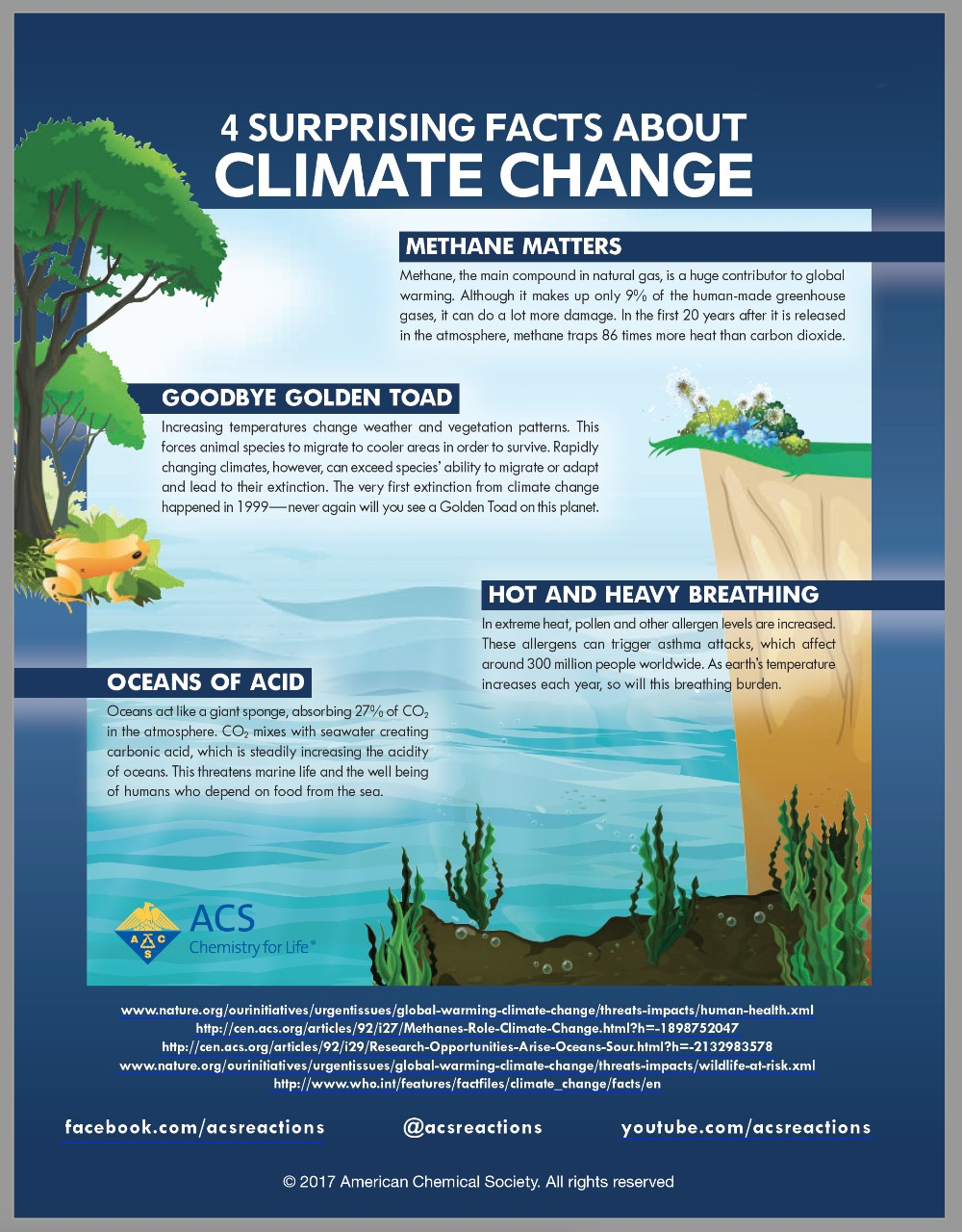 Infographic - Four Surprising Facts About Climate Change