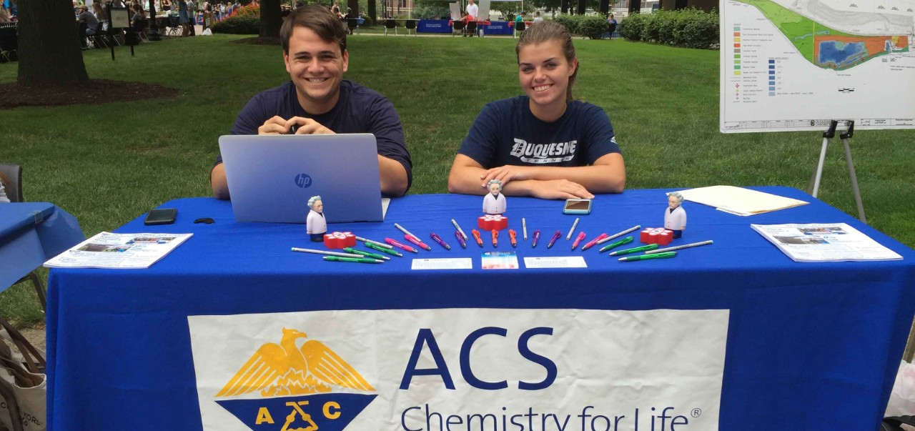 Duquesne University ACS Student Chapter Members