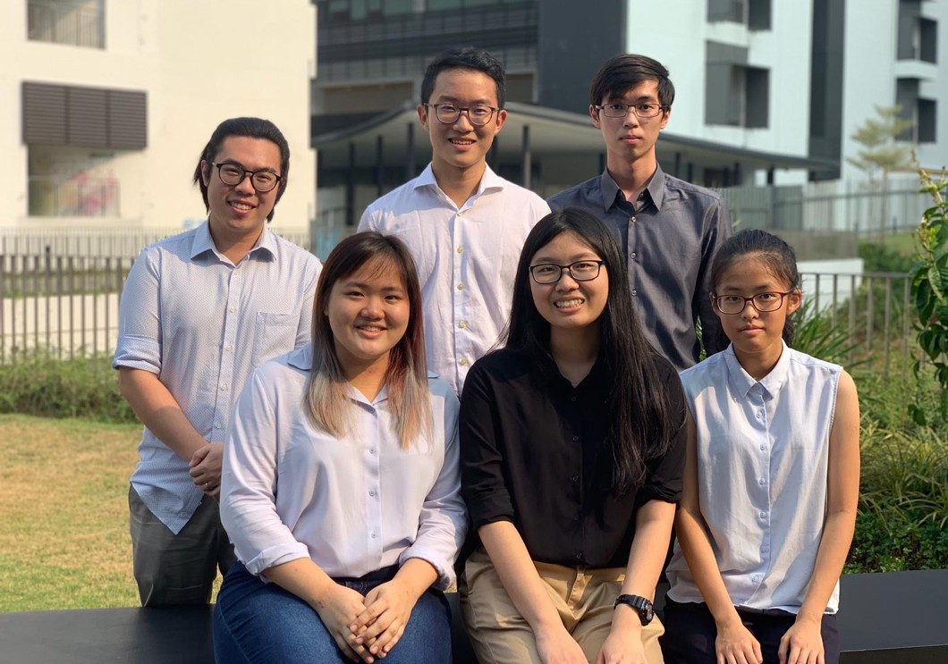 ACS Student Chapter Executive Council at the National University of Singapore