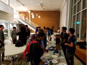 UMCP chapter setting up for Mole Day